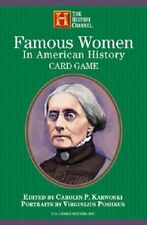 Famous Women in American Playing Cards New