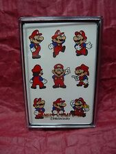 Rare Vintage 1980s Nintendo Super Mario Bros. Deck of Playing Cards Sealed New