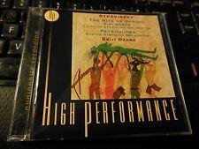 Stravinsky: Le sacre du printemps; Petrushka; Fireworks (CD 1999) Ozawa