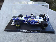 Rare 1/43 Williams Renault FW18 Damon Hill 1996 RBA Libri Milan Italy