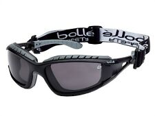 Bolle TRACKER 40086 Black/Gray Safety Glasses Goggles Anti-Scratch Smoke Lens