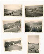 6 x Foto, Wehrmacht, I.R.12, Der Weg über den Balkan 1941 (W)1397