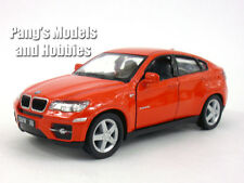 BMW X6 1/38 Scale Diecast Metal Model by Kinsmart - RED