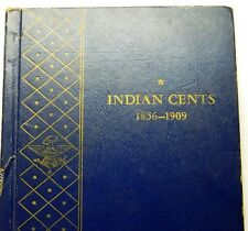 Indian Head Cent collection book mixed grades (48-coins)