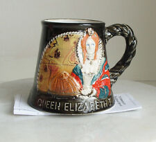 GREAT YARMOUTH MUG TO COMMEMORATE THE LIFE & TIMES OF QUEEN ELIZABETH 1ST