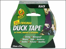 Shurtape Duck Tape Original Waterproof tape Black 50mm X 25m