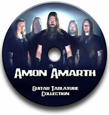 AMON AMARTH DEATH METAL ROCK GUITAR TABS TABLATURE SONG BOOK SOFTWARE CD