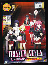 *NEW* TRINITY SEVEN *13 EPISODES*ENGLISH SUBTITLES*ANIME LOT*US SELLER