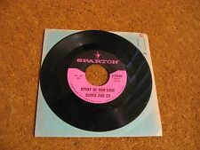 Derek & Ed/ Story Of Our Love b/w Basically Blue/ Sparton/ 1965/ Canada/ Rare