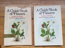 Vintage 1976 A Child's Book Of Flowers, Daly, HC With Cover, Color Illustrations