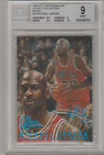 1996-97 Flair Showcase Legacy Collection Row 0 Michael Jordan 148/150 BGS 9 Mint
