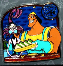 Epcot Food and Wine Festival 2016 Yzma & Kronk Disney Pin+Halloween Party Map