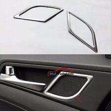 Stainless Car Door Stereo Speaker Cover Frame Trim For Hyundai Tucson 2015 2016