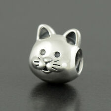 Authentic Genuine Pandora Sterling Silver Curious Cat Charm - 791706