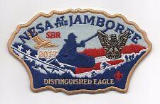 2017 National Jamboree NESA Distinguished Eagle JSP, Gold Brd., w/ Back No.