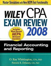 Wiley CPA Exam Review 2008: Financial Accounting and Reporting (Wiley Cpa Examin