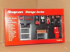 SNAP-ON 1/43 SCALE GARAGES ACCESSORIES 17PCS GARAGE SERIES TRUE SCALE 08003 1:43