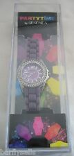 SEKONDA WATCH WOMEN'S PARTY TIME 4695.05 STAINLESS STEEL CRYSTALS BNWT