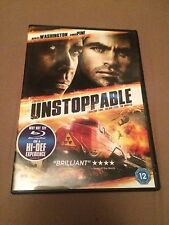 Unstoppable (DVD, 2012) denzel washington, chris pine, region 2 uk dvd