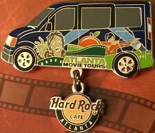 "Hard Rock Cafe ATLANTA 2015 Movie Tour Bus ZOMBIES PIN on CARD ""Walking Dead"""