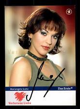 Mariangela Scelsi Verbotene Liebe Autogrammkarte Original Signiert # BC 85732