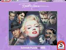 SCHMIDT JIGSAW PUZZLE MARILYN MONROE AND FRIENDS RENATO CASARO 1000 PCS #57550