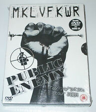 DVD SEALED OVP NEU NEW/2 DVD+Audio/PUBLIC ENEMY/MKL VF KWR/Revolverlution Tour A