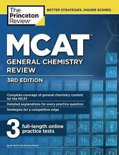 MCAT GENERAL CHEMISTRY REVIEW (9781101920572) - PRINCETON REVIEW (PAPERBACK) NEW