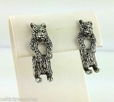 EARlusion 3D Pewter Grizzly Bear earrings Jewelry