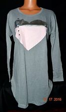 Victorias Secret Heart Signature Sleepshirt Night Gown Pajamas NWT XL