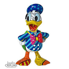 "DISNEY by BRITTO ""Donald Duck"" NEU/OVP  Sammler Pop-Art Design Figur Skulptur"