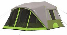 Ozark Trail Camping Tent 9-Person Green Screen Room Instant Cabin Shelter New