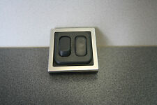 CBE 12v Double Light Switch. Twin In-line Switch For Campervan/Motorhome SQ