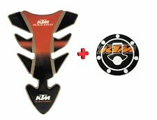 Combo KTM Inspired Tank Pad/ Tank Sticker For DUKE/RC 125/200/390...