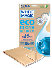 NEW WHITE MAGIC MICROFIBRE CAR CHAMOIS ECO CLOTH CLEANING KITCHEN FRIENDLY HOME