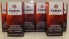 6 x Tabac Original Shaving Soap Stick Refill 100g Multi-Buy