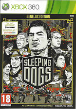 SLEEPING DOGS for Xbox 360 - with box & manual - PAL
