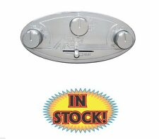 Vintage Air Gen II Streamline Oval Aluminum Panel Backlit 48104-RHQ