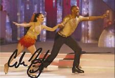 DANCING ON ICE: COLIN JACKSON SIGNED 6x4 ACTION PHOTO+COA
