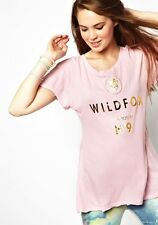 WILDFOX COUTURE LOVE POTION NO. 9 PINK TEE TOP S 10 6 38!