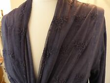 Ladies long line cardigan with lace overlay size M 12 14 NWOT