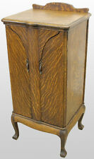 Antique Oak Sheet Music Storage Cabinet made by Herzog