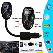 Handsfree Car Kit MP3 Player Wireless Bluetooth FM Transmitter Modulator Remote