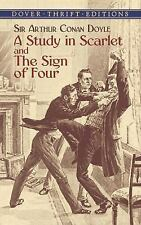 A Study in Scarlet and the Sign of Four by Arthur Conan Doyle (2003, Paperback)
