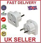UK TO EUROPE EU - TRAVEL ADAPTOR POWER PLUG - Pack of 1