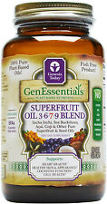Genesis TodaySuperfruit Oil Omega 3 6 7 9 w/Sea Buckthorn 90 Veggie Gel Caps