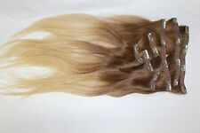 "YAFFA WIGS 100% HUMAN HAIR EXTENTIONS 16"" LONG"