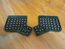 ErgoDox Ergonomic Mechanical Keyboard Cherry MX Red Fully Assembled No Key Caps