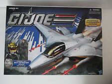 Gi Joe 25th Anniversary SKY STRIKER XP-21F Combat Jet sealed
