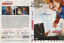 Dvd *Seed of Chucky* 2004 Classic Cult Scary Adult Horror Movie (DTS Issue)mmmm